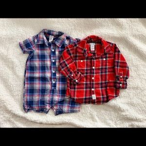 Bundle of 2 Boys Carter's Tops